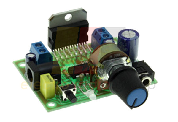 Радиоконструктор УНЧ 2х 15Вт на TDA7297 с регулятором K192