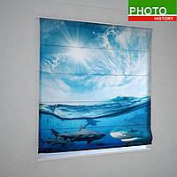 Римские фотошторы акула