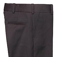 """Школьные брюки для мальчика """"Элегант"""" синие в рубчик"""
