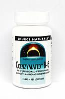 Коэнзим Витамина В6 25мг, Source Naturals, 120 таблеток для рассасывания
