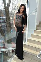 Вечернее платье из кристалла с камнями ( Анна)