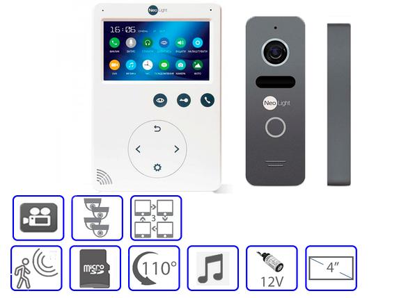 Комплект домофонной системы Nelight SOLO + Neolight Tetta +, фото 2
