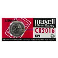 Дискова батарейка MAXELL Cell Lithium 3V CR2016