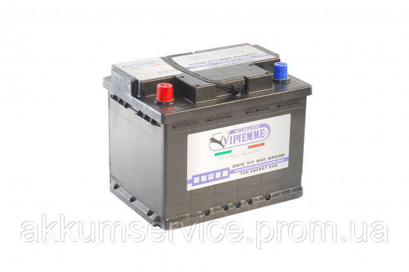 Аккумулятор автомобильный Vipiemme Top Energy 65AH L+ 580A