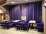 Диваны для кафе, баров, ресторанов и клубов Тетра.  Мягкая мебель для ресторанов и кафе, фото 7