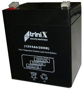 Аккумулятор АКБ 12 В  4 А  для охранных и пожарных сигнализаций