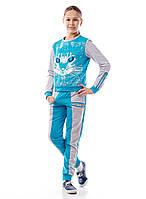 Спортивный костюм для девочки 128-158 см