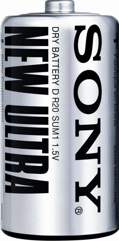 Батарейка SONY New Ultra D/R20