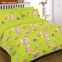Детское постельное белье Вилюта для новорожденных ранфорс 4457 зелений