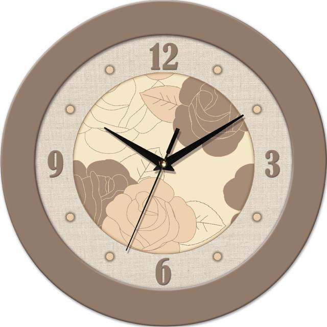 Настенные часы с лого на заказ