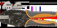 Клещи для обжима телефонных наконечников 0,5-16 мм 2 (22-6 AWG), NEO  01-506