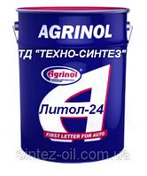 Смазка Литол-24 Агринол (17 кг)