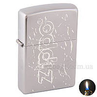 Зажигалка бензиновая Zippo 205 Satin Chrome (Матоваый хром) 205502, фото 1
