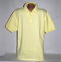 Поло Primark мужское светло-желтого цвета р.52-54 б/у