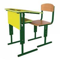 Комплект школьной мебели регулируемый по высоте. Школьные столы и стулья регулируемые по высоте.