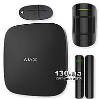 Беспроводная GSM сигнализация для дома / квартиры AJAX StarterKit Black (7563.00.BL1)