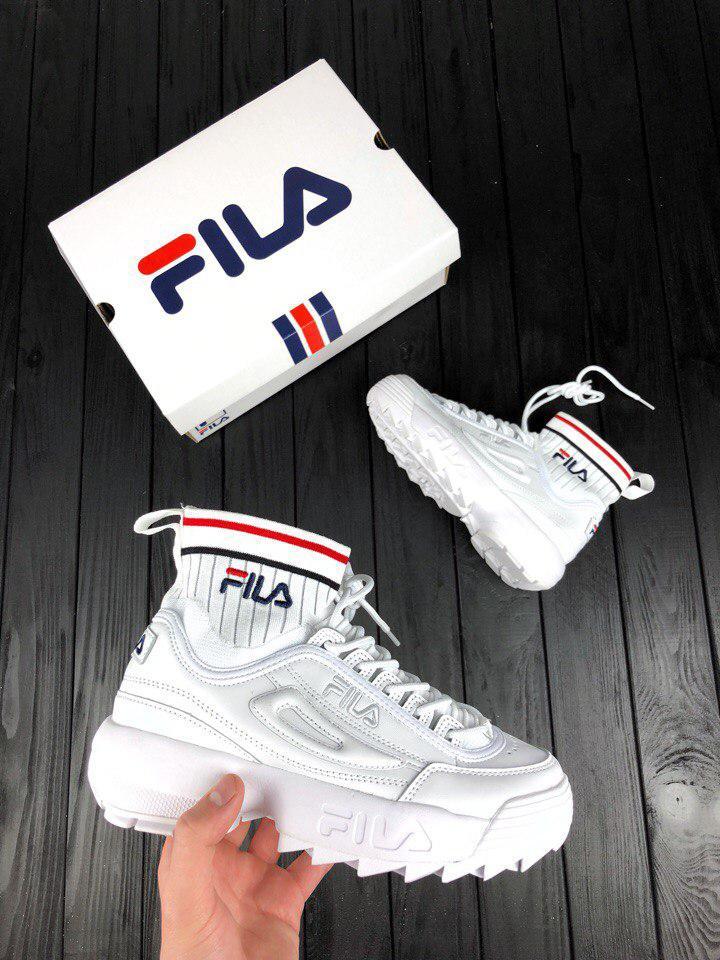 Кроссовки Fila Disruptor II EVO Sock — в Категории