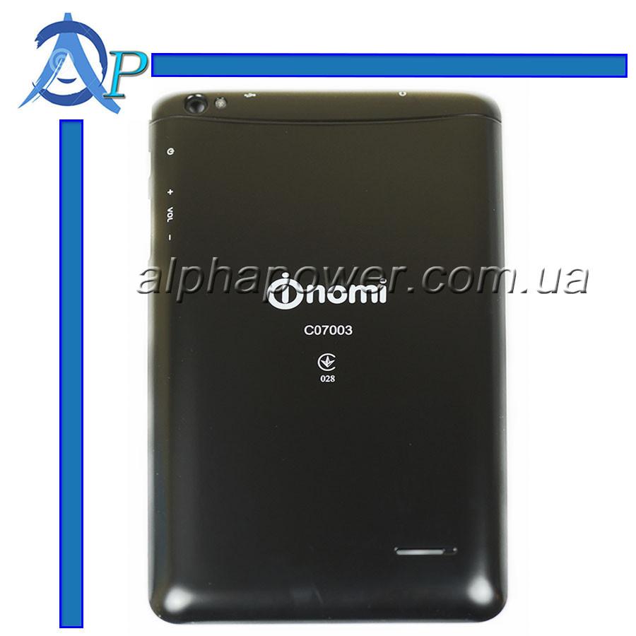 Задняя крышка для планшета Nomi C07003 черная
