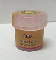 """Краситель пищевой сухой """"Красный"""" 5мл Sugarflair"""