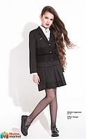 Школьная юбка с кружевом Suzie Ирида, цвет черный