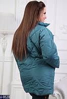 Пальто V-0520 (54-56, 50-52) — купить Верхняя одежда XL+ оптом и в розницу в одессе 7км