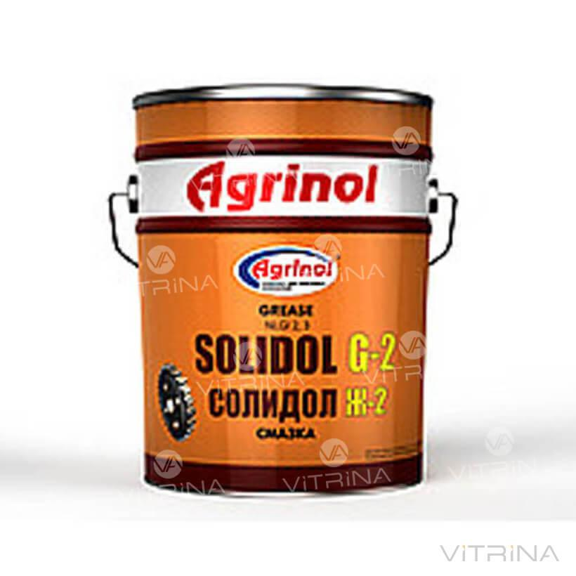 Смазка Солидол Ж-2 Агринол (Ведро 17кг) │ 4102789956