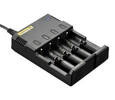 Універсальний зарядний пристрій Nitecore Digicharger i4