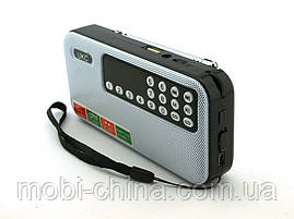 FM приемник UKC SPS T7 (U7) с MP3, черный с белым, фото 2