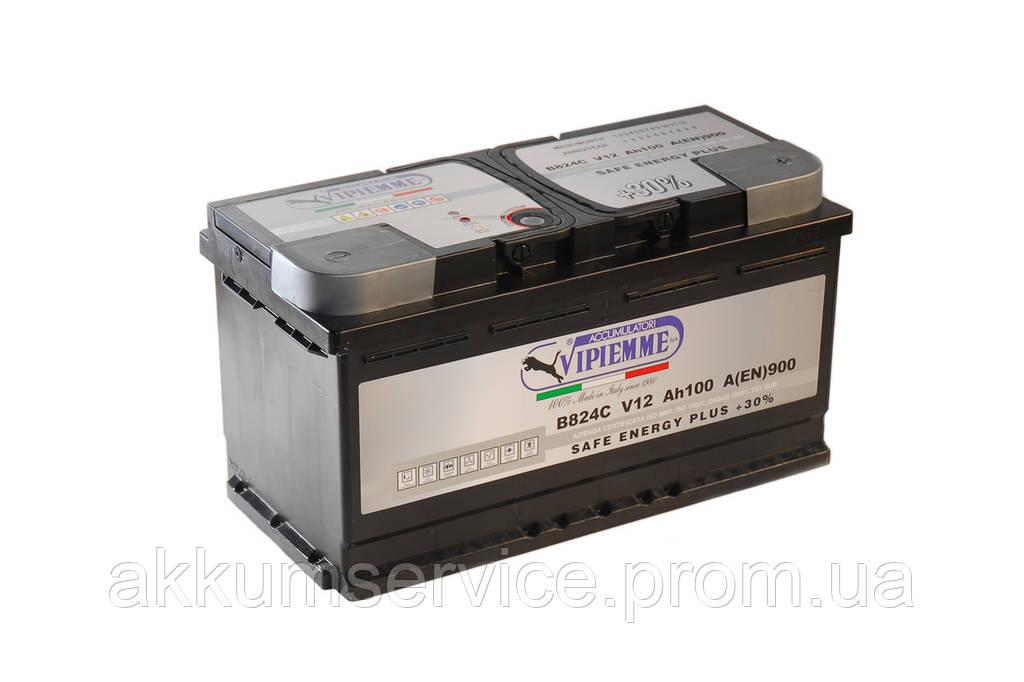 Аккумулятор автомобильный Vipiemme SAFE ENERGY PLUS 95AH R+ 900A