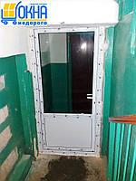 Металлопластиковые двери Вишневое, фото 1