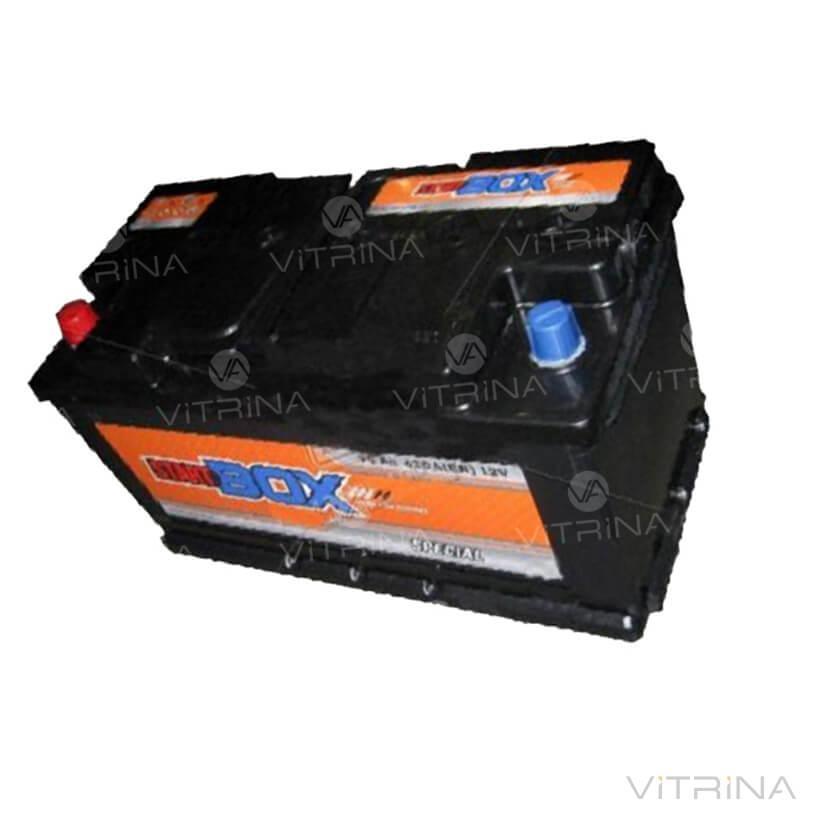 Аккумулятор StartBOX Special 90Ah-12v (350x175x190) со стандартными клеммами | R, EN680 (Европа)
