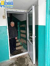 Металопластикові двері Буча, фото 3