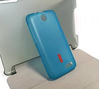 Чехол для Lenovo A526 накладка бампер противоударный Silicone Case