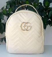 Женский молодежный повседневный рюкзак Gucci / Гучи реплика. Городской рюкзак