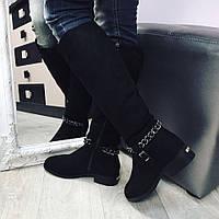 Зимові чоботи з ланцюжком
