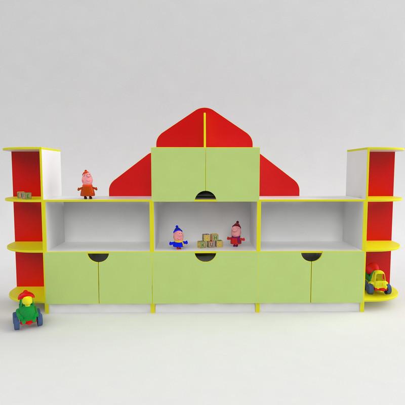 Дитяча стінка Будиночок від виробника