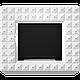 БіокамінEGZUL с кристаллами Swarovski белый глянцевый, фото 3