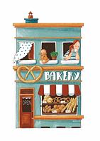 """Открытка """"Семейная пекарня"""""""