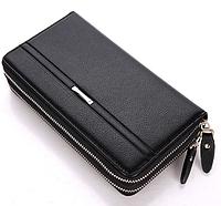 Чоловічий клатч портмоне чорний