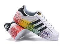 Кросівки Adidas Superstar rainbow, фото 1