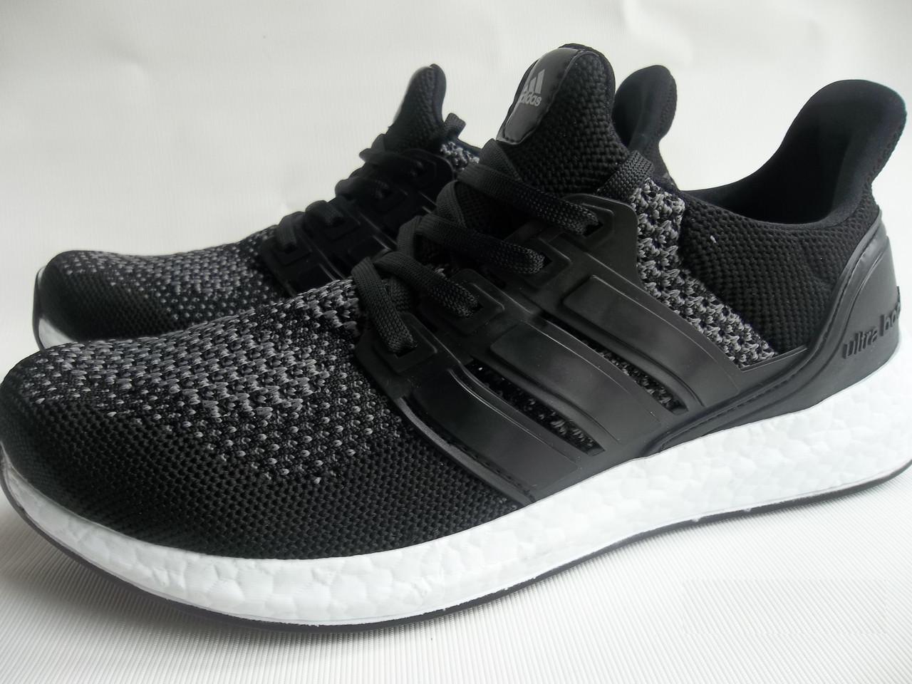 Чорні Adidas Ultra Boost чоловічі  продажа b90b192cf6380