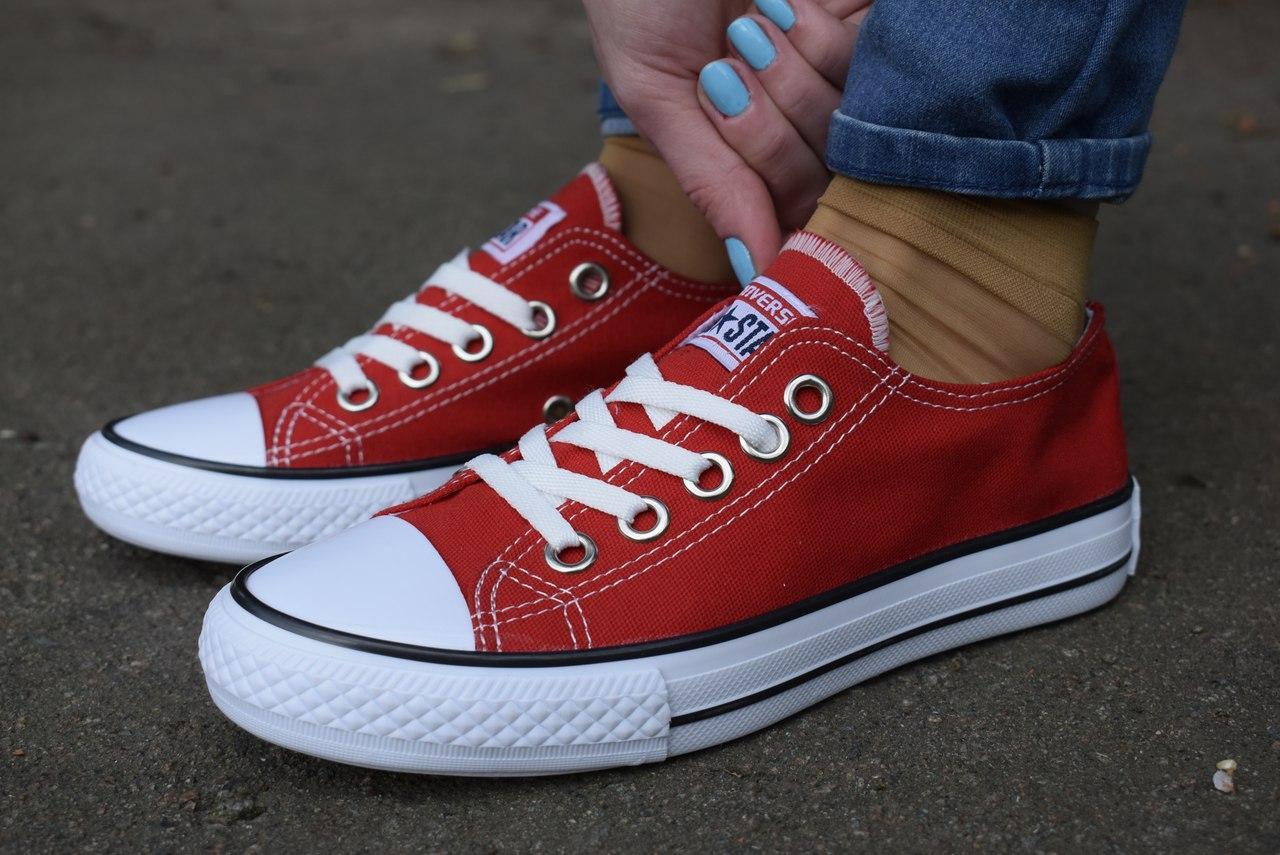 acc62699cddc Жіночі кеди Converse All Star червоні - Одежда и обувь лучшие тренды года  Моя Мода ✓