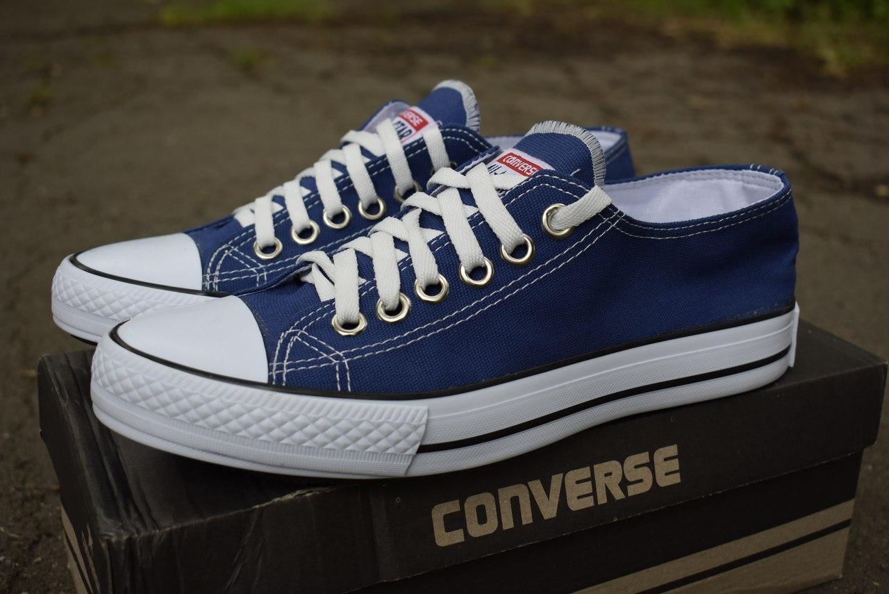 Чоловічі кеди Converse темно-сині - Одежда и обувь лучшие тренды года Моя  Мода ✓ 8bbbc7b79bd3e