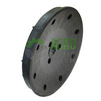 "GD11453 Напівдиск колеса опорного 4,5"" x 16"" GD11453 KINZE диск (пластик)"
