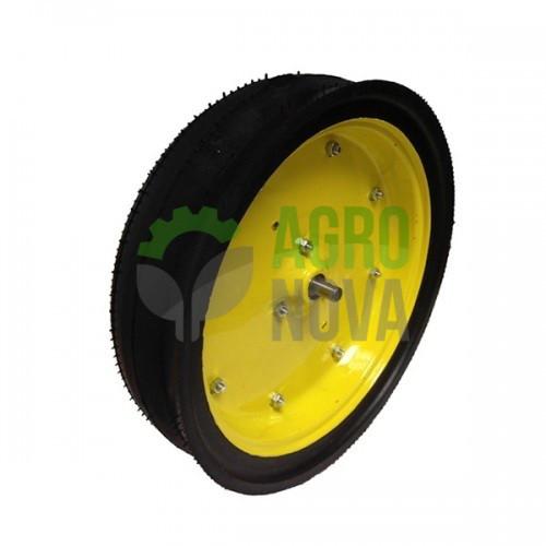 """AA35392 Колесо прикатывающее в сборе 4.5""""x16"""" диск с вырезом John Deere"""