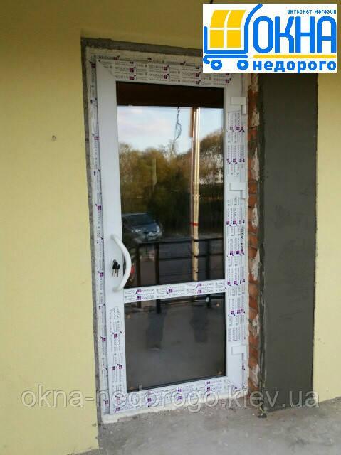 Металлопластиковые двери Гостомель