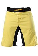 Спортивные шорты для ММА Berserk Legacy yellow