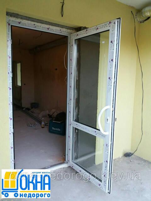 Металлопластиковые двери Бровары