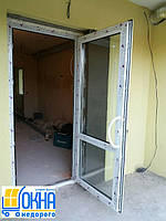 Металлопластиковые двери Бровары, фото 1