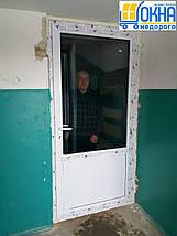 Металлопластиковые двери Бровары, фото 3